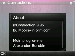 MConnections 0.05