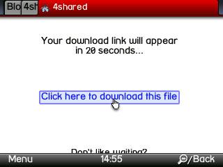 Cara Mudah Download dari 4shared
