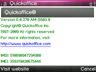 QuickOffice 6.0.270