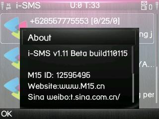 Free iSMS 1.11 beta2