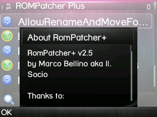 Rom Patcher 2.5