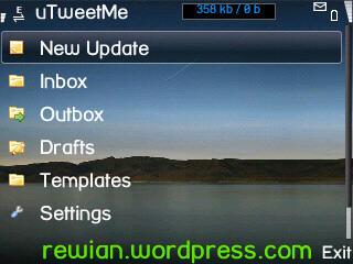 uTweetMe 1.3.20 S60v3/v5 J2ME