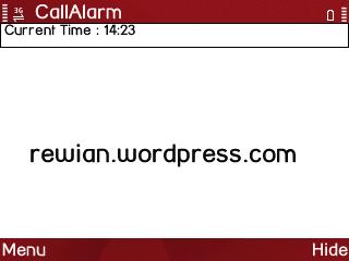 SajiSoft Call Alarm v1.00