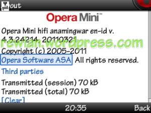 Opera Mini 4.3