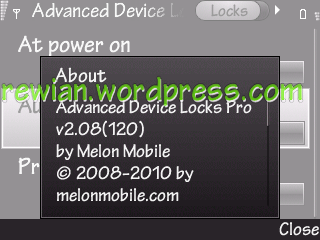 Advanced Device Locks Pro v2.08 build 120 S60v3