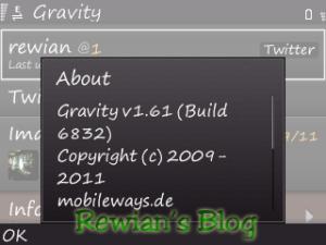 Gravity v1.61 Build 6832