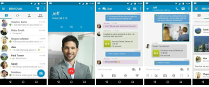 Download Blackberry Messenger 2.9 APK Terbaru Material Design